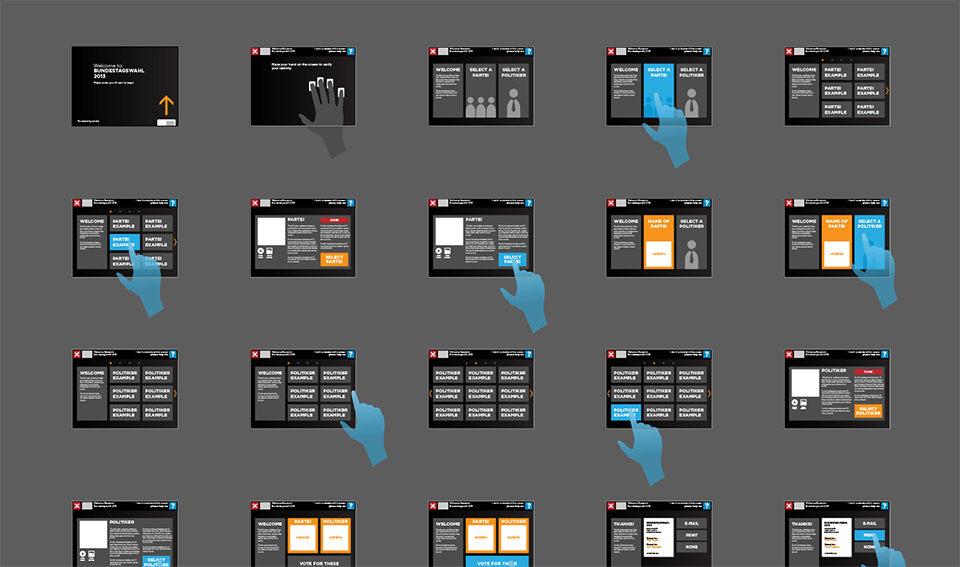 Continued wireframes